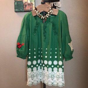 Vintage Odd Molly cotton blouse